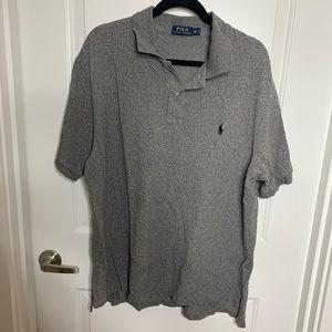 Grey Polo collared shirt